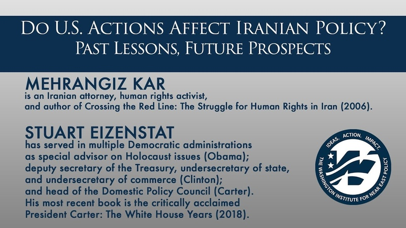 Do U S Actions Affect Iranian Policy Past Lessons Future Prospects