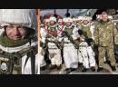 Порошенко и украинский солдат с шевроном танковой дивизии СС Мертвая голова