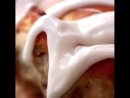 Коричные булочки с начинкой (instagram рецепт)