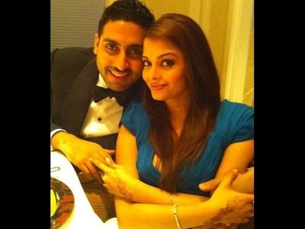 Aishwarya Rai and Abhishek Bachchan Real Life Pics