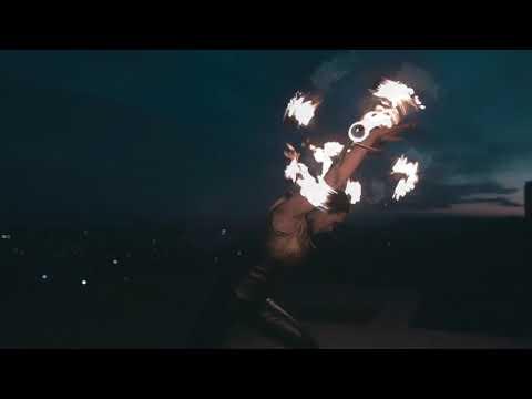 Solaris fire-show