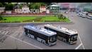 Электробус Тролза модель 2019 года на мосту Саратов-Энгельс