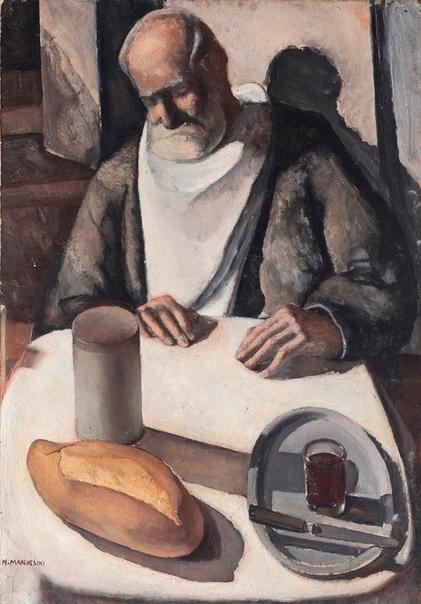 Нелла Маркезини, Nella Marchesini (1901-1953)-итальянская художница, ученица Felice Casorati.Родилась в Марина -де - Масса в семье профессора математики и большого вольнодумца. Вместе в четырьмя