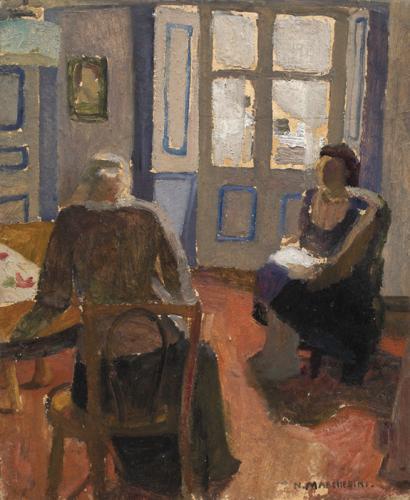 Нелла Маркезини, Nella Marchesini (1901-1953)-итальянская художница,