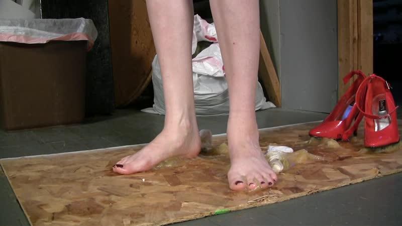 A Sticky Trick Foot Stuck