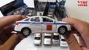 Полицейские машинки распаковка и обзор. Купил много разных моделек ДПС, ППС, МВД.