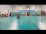 2018-09-17 1/2 финала. Чемпионат России по волейболу 40+