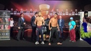 Курбанов vs Родригез Официальное взвешивание WBSS Season 2