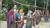 60 KG African Catfish Cutting &amp Cooking Fish With Rice Curry By Women To Feed Whole Village Peoples
