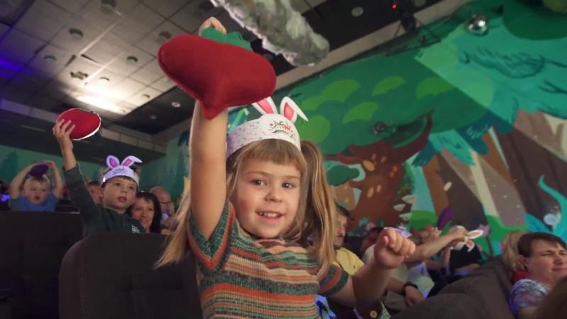 Шоу сказка Зайцы для детей от 2 до 6 лет. Цирк Чудес в Кунцево