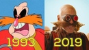 DOCTOR EGGMAN ROBOTNIK: Evolution in Movies, Cartoons, TV (1993-2019) Sonic the Hedgehog