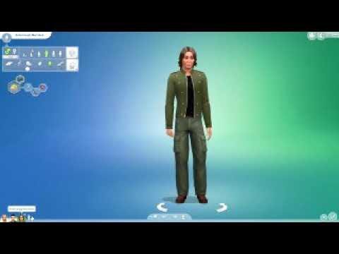 Sims 4 Зелёный Слоник