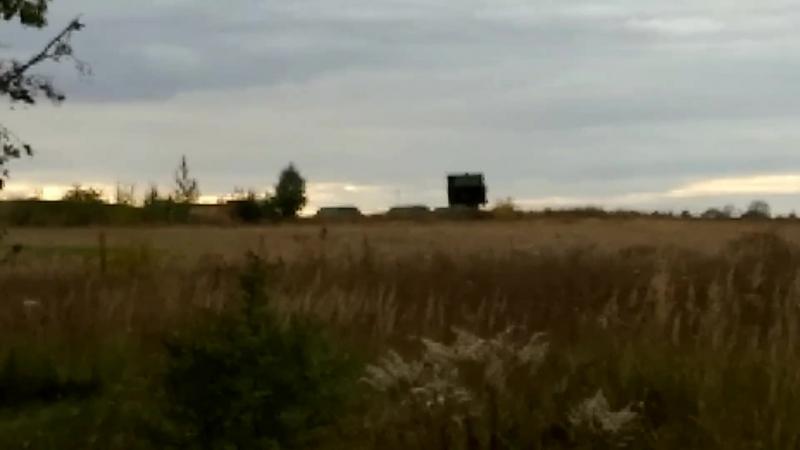 ЗРК С-300 та РЛС Пелікан на Луцькому військовому аеродромі