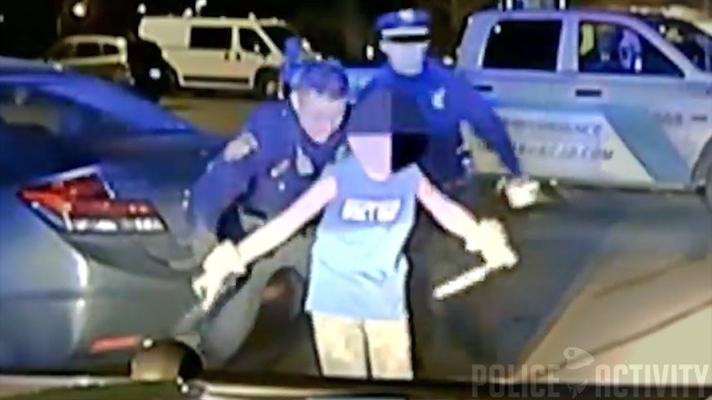 Dashcam Shows Ohio Cop Disarm Young Boy Armed With 2 Knives
