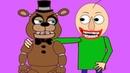 Фнаф играет в Балди анимация