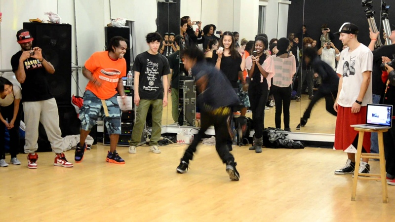 Les Twins dance class International Dance Academy Hollywood FREESTYLE