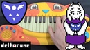 DELTA RUNE - DON'T FORGET (UNDERTALE 2) BUT IT'S PLAYED ON A CAT PIANO