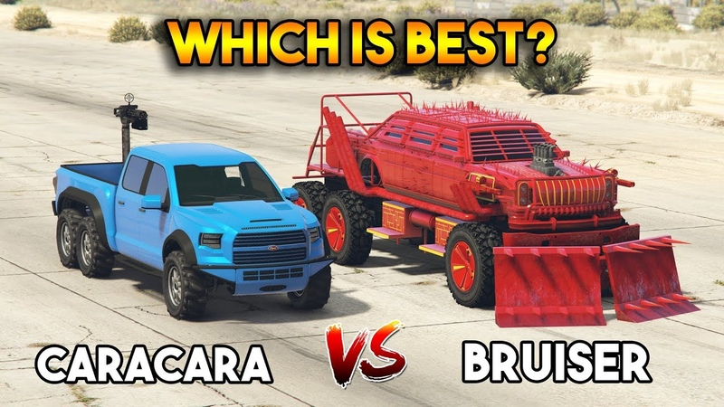 GTA 5 ONLINE BRUISER VS CARACARA (WHICH IS BEST)