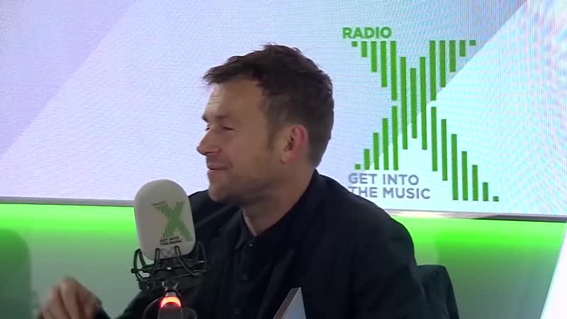 "Damon Albarn and Paul Simonon, ""Music is part of our national health_"" - Radio X"