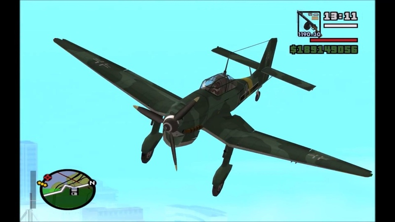 WWII aircrafts sound for GTA San Andreas (v2)