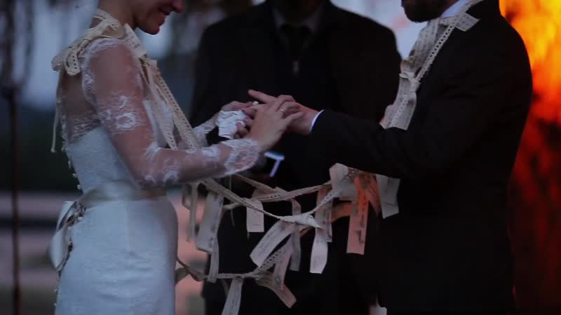 Свадьба Наталии и Брайана в горах Малибу