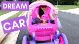 ADULTS DRIVE DISNEY PRINCESS CARRIAGE - DREAM CAR Joyride in a Kids' Electric Toy Car Ride