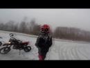 Pit Bike ТТР125 winter drift