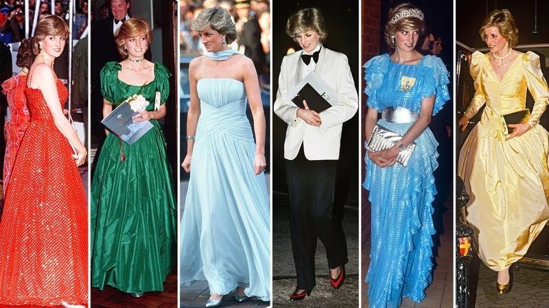 Princess Diana Modern Red Carpet Dress | Royal Update