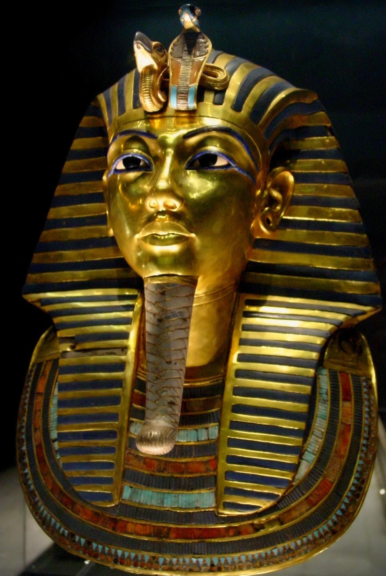 Золотая маска Туттанхамона