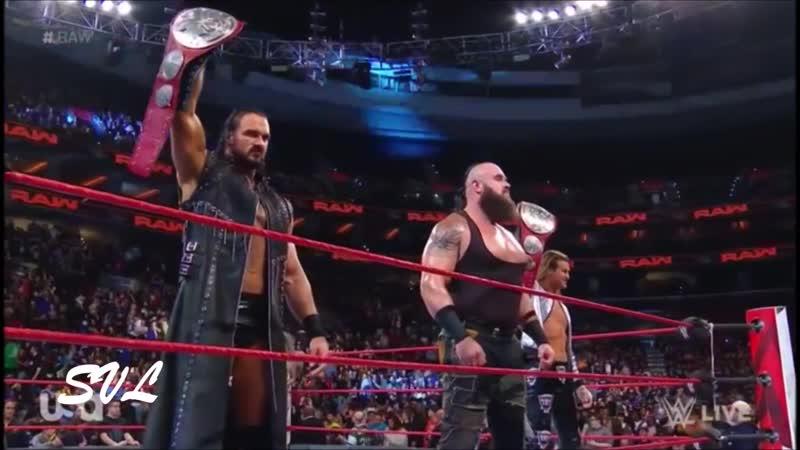 The Sheild vs. Braun Strowman , Ziggler , Drew McIntyre WWE Raw, Oct. 15, 2018 - Highlights HD