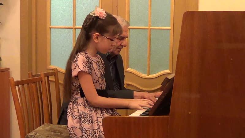 Кожемяко Марина с дедушкой Вальс Грибоедов
