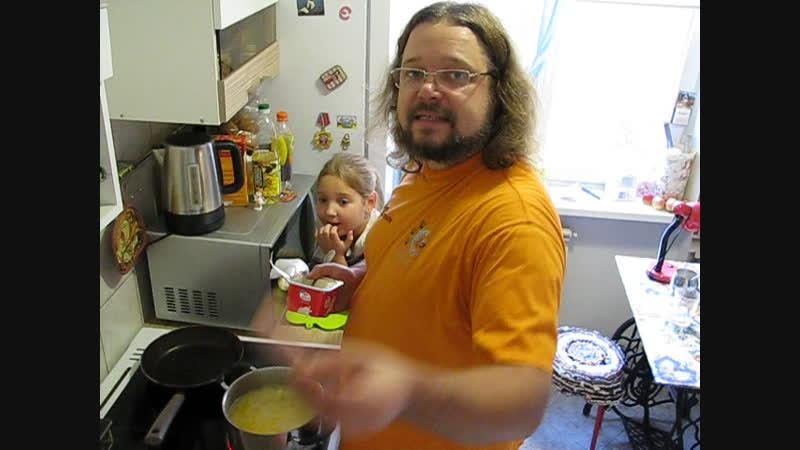 Два яйца (кулинарный видеоблог) - Сырный суп