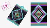 DIY Tutorial Ciondolo Ethnic - Square Stitch in Italiano
