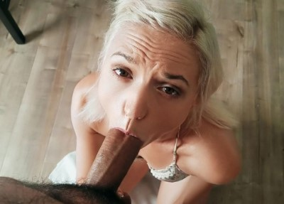 Horny Pigtails Chick Loves Cock