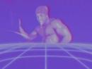 Дениска танцует сексуальный танец в ретровейв