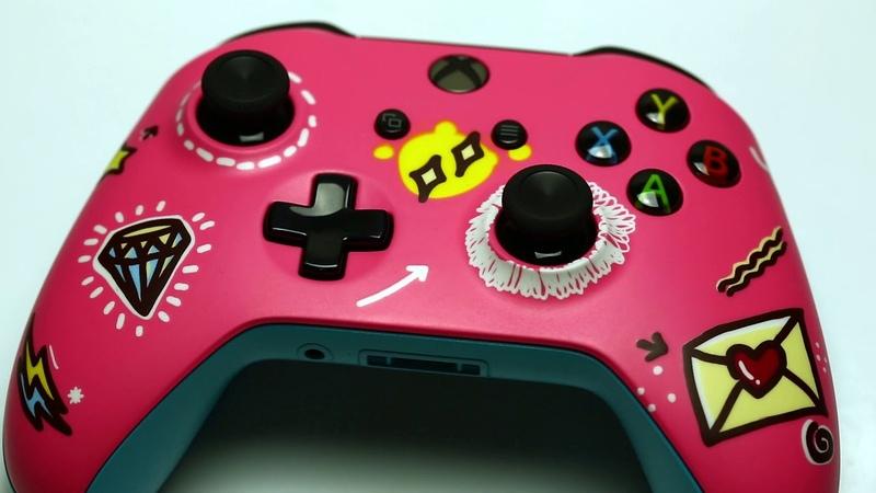 Кастомизированный геймпад Xbox ONE коллекции Sweet