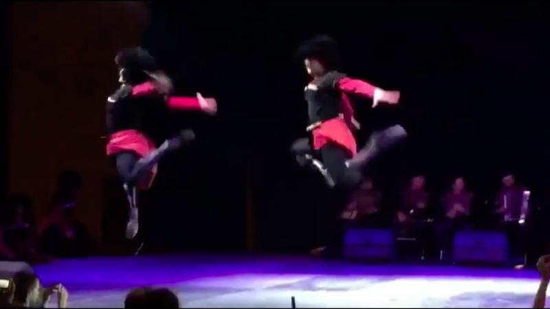 ансамбль Сухишвили - танец Цдо (30.09.2018)