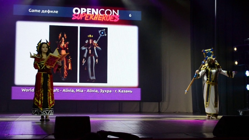 Opencon-2018_0786_World of Warcraft - Alivia, Mia - Alivia, Зухра