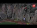 Wall climbing at Gua Damai