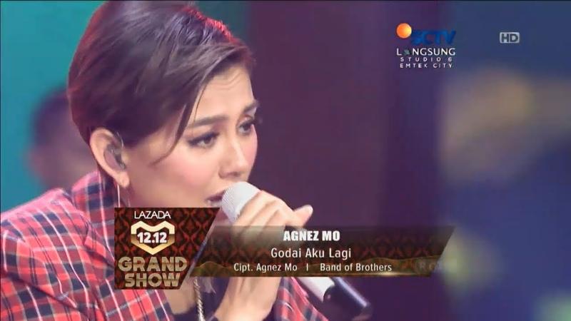 Agnez Mo - Godai Aku Lagi Live Lazada Indonesia 12.12 Grand Show HD 720p