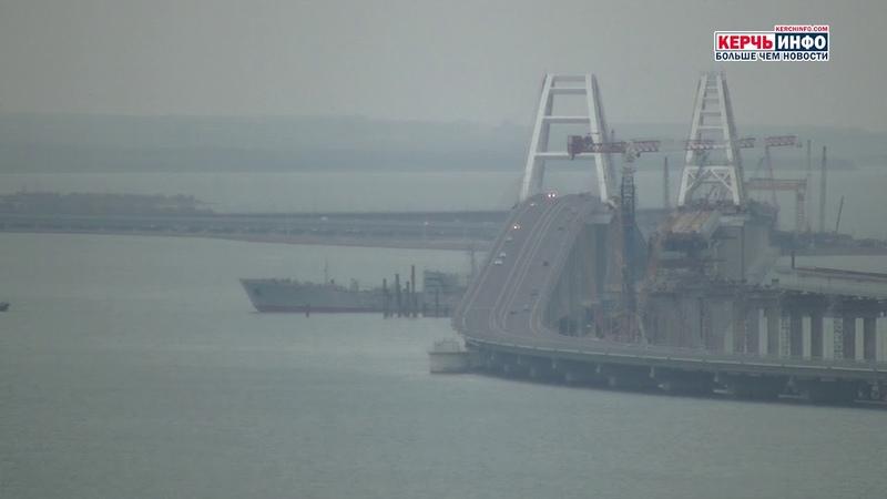 Как корабли Украины проходили под Крымским мостом: подробности операции