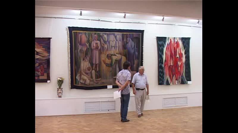 Рассо Магометов - репортаж с выставки в Махачкале