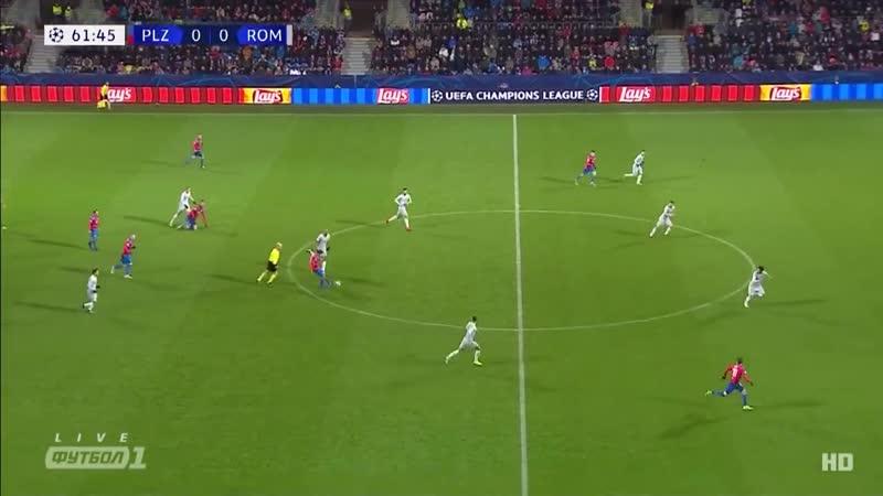 Лига Чемпионов Виктория - Рома 2:1 обзор 12.12.2018 HD