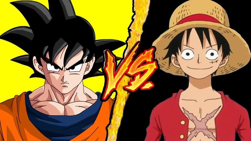 Dragon Ball (Goku) VS One Piece (Monkey D. Rufy) - Battaglia Rap Epica - Manuel Aski