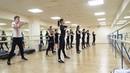 На занятии по хореографии (модерн). Хрустальный , 15.01.2017 (1)