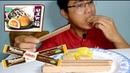 Thử Ăn Bánh Dẻo Mochi Bánh Xốp Nabati Socola Mr Tran Vlog