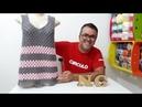 Camiseta de Croche TIJOLINHO por Neddy Ghusmam