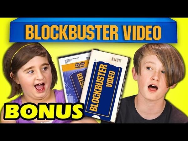 KIDS REACT TO BLOCKBUSTER VIDEO (BONUS 154)