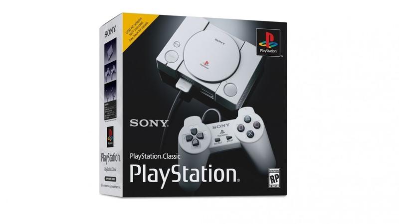 Легенда возвращается анонс Playstation 1 Classic от Sony