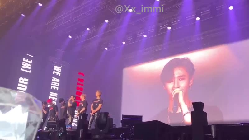 [VK][190414] MONSTA X fancam Talk Time @THE 3rd WORLD TOUR WE ARE HERE in Seoul D - 2